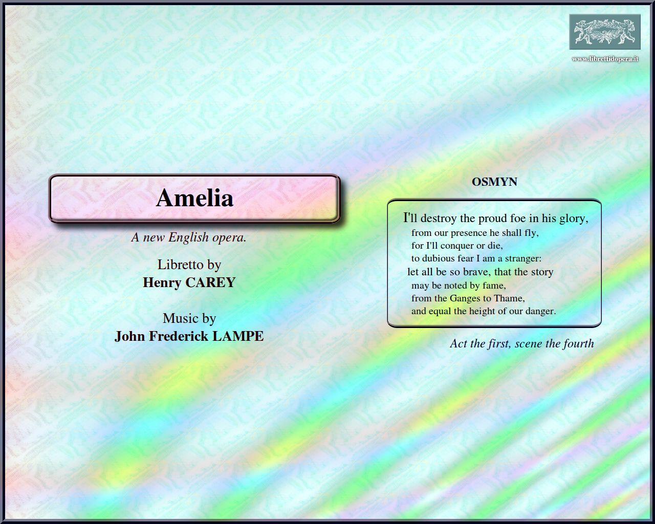 Amelia (1732) - Image for desktop background