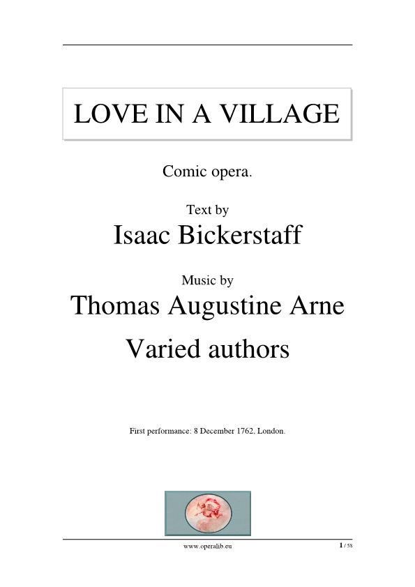 Love in a village 1762 pdf here the libretto printable version in pdf format altavistaventures Image collections